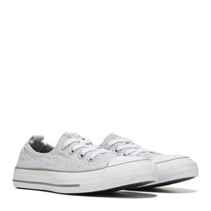 Converse All Star Grey Sz 8 Sneaker Shoes slip on